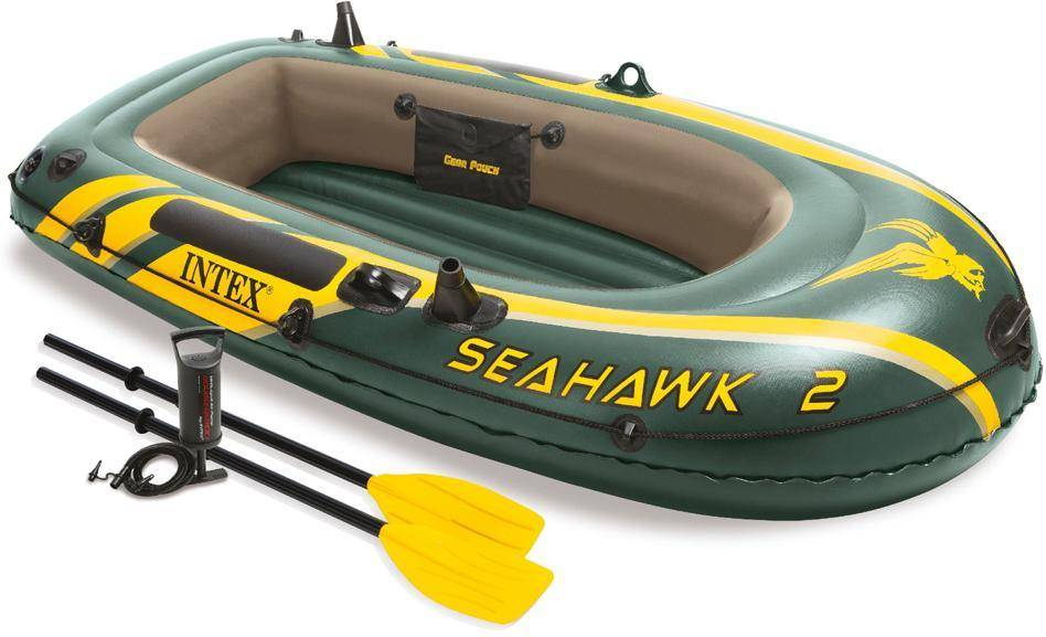 Intex Puhallettava Sea Hawk 200 setti - Kumivene 68347