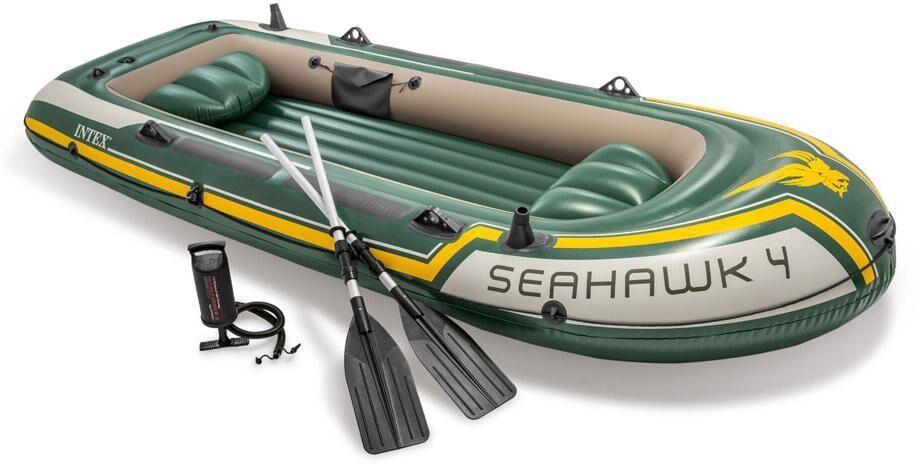 Intex Kumivene Seahawk 4, mukana airot - Intex Seahawk 4 68351