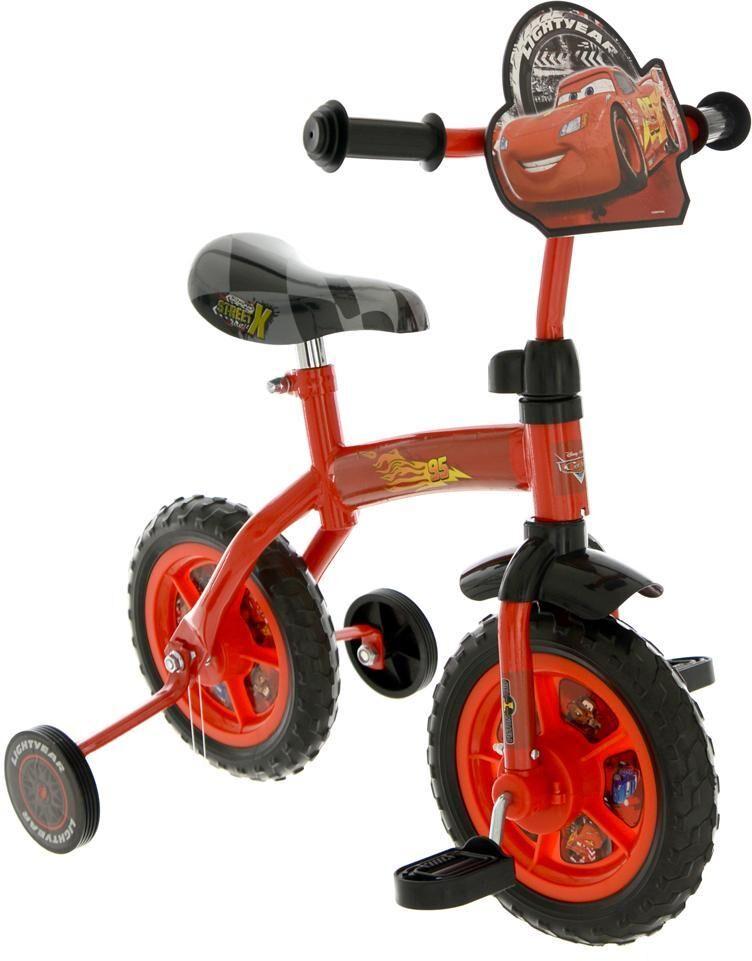 Cars Salama McQueen Ensimmäinen polkupyöräni - Disney Cars lastenpyörä 14045