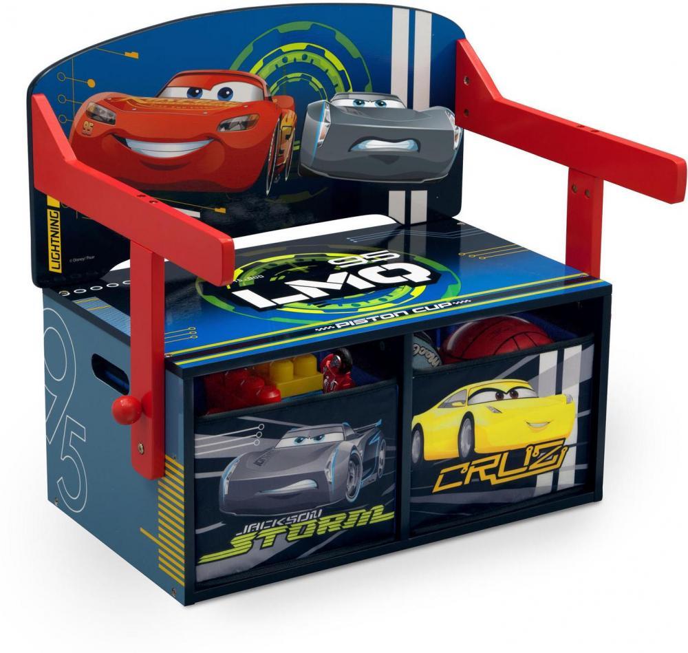 Cars Disney Autot penkki ja pöytä - Disney Cars huonekalut 72117