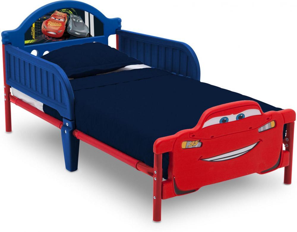 Cars Autot junior sänky ilman patjaa - Disney Autot sänky 72469