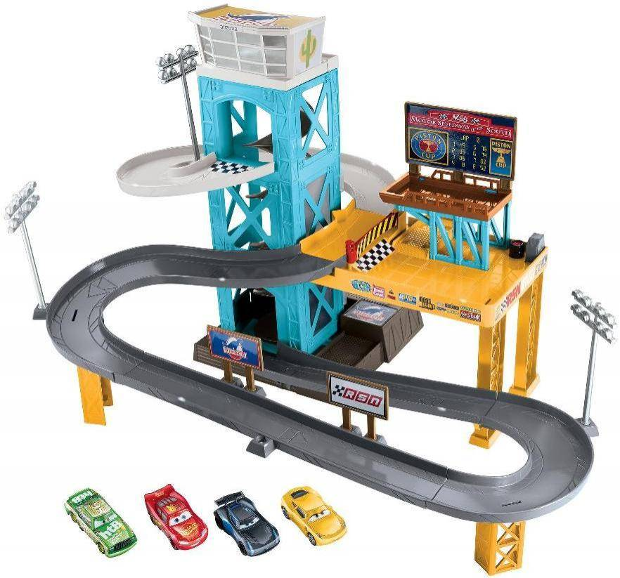 Cars Piston Cup Garage - Disney Autot 3 DXY86