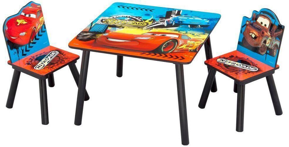Cars - Autot, pöytä ja tuolit - Disney Autot lastenpöydät TB84521CR