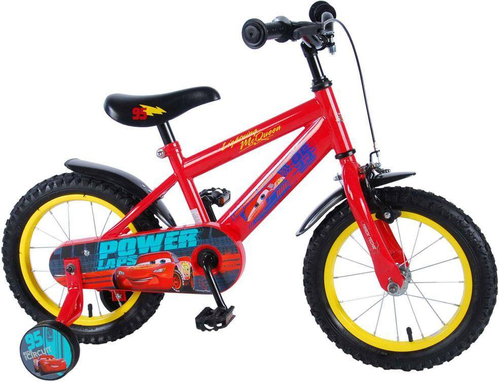 Cars 3 Childbike 14 tuumaa - Disney Cars lasten pyörä 99448