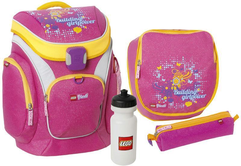 Lego Friends Pink penaali, mukana kyniä - Lego penaali 13153