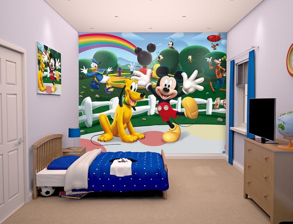 Mikki Hiiri tapetti - Walltastic Disney Mikki 42056