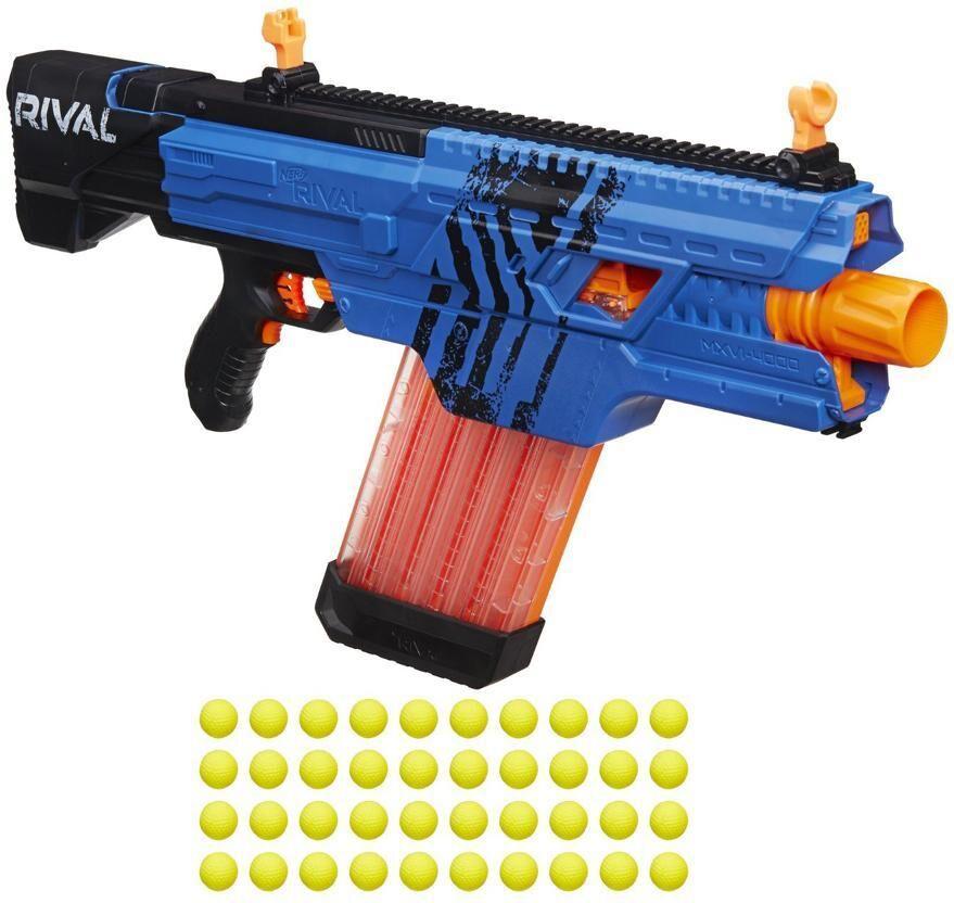 Nerf Rival Khaos MXVI 4000 sininen - Nerf ase B3860