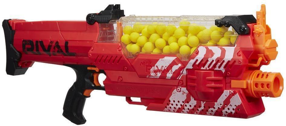 Nerf Rival Nemesis MXVII-10K punainen - Nerf ase B8240