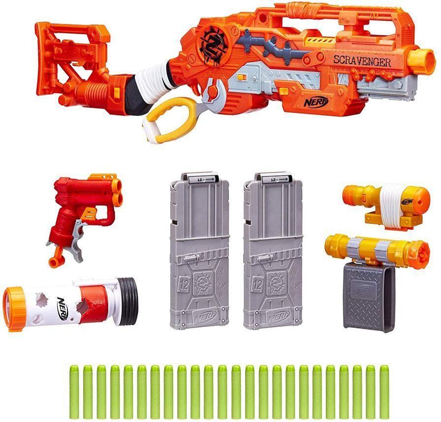 Nerf Zombie Strike Scravenber - Nerf Zombie Guns E1754