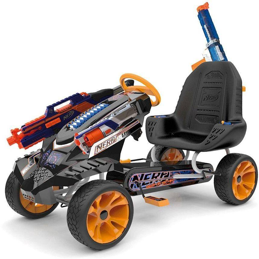 Nerf Go Cart Battle Racer - Nerf mikroauto 291869