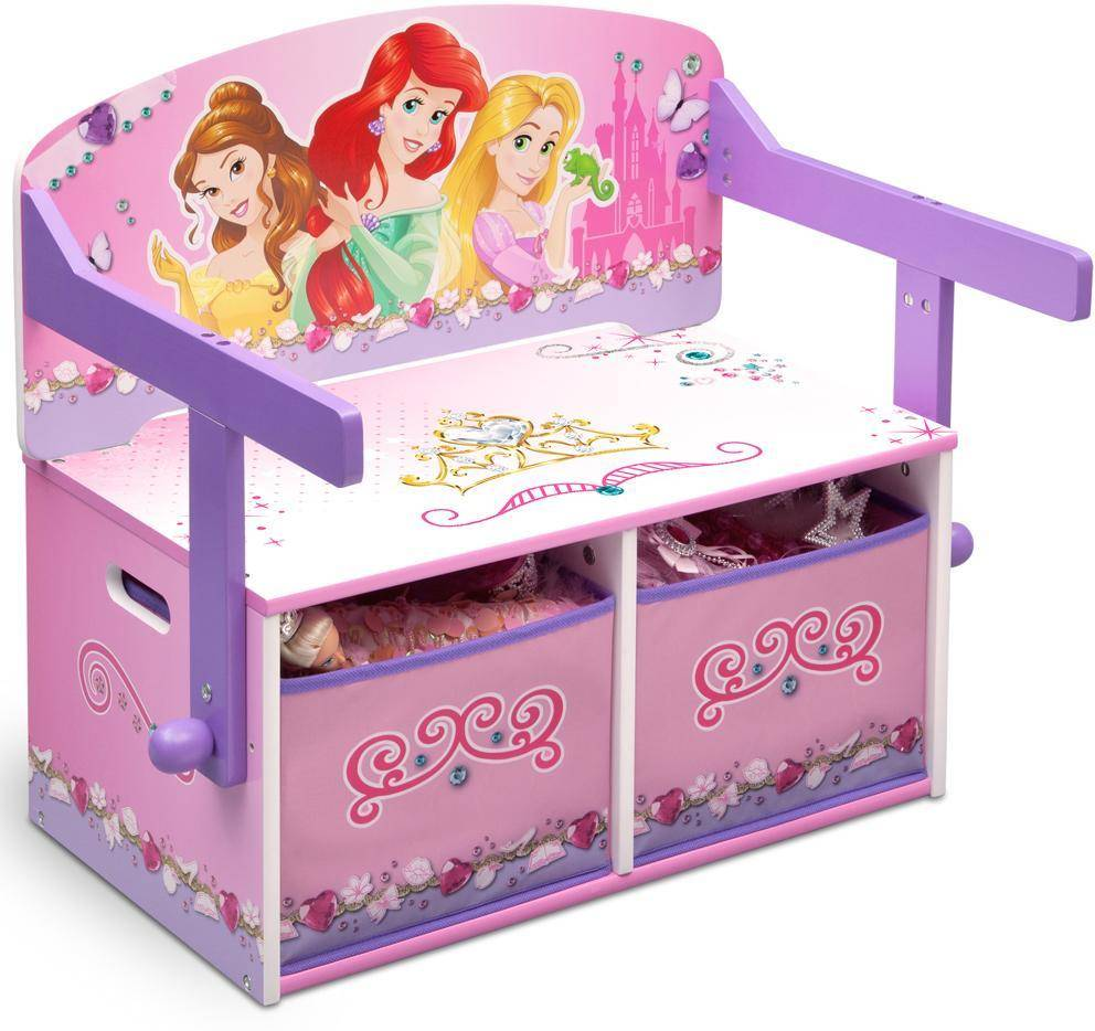 Disneyn Prinsessat 3-in-1 Penkki ja pöytä - Disney Princess Pöydät ja tuolit 043278