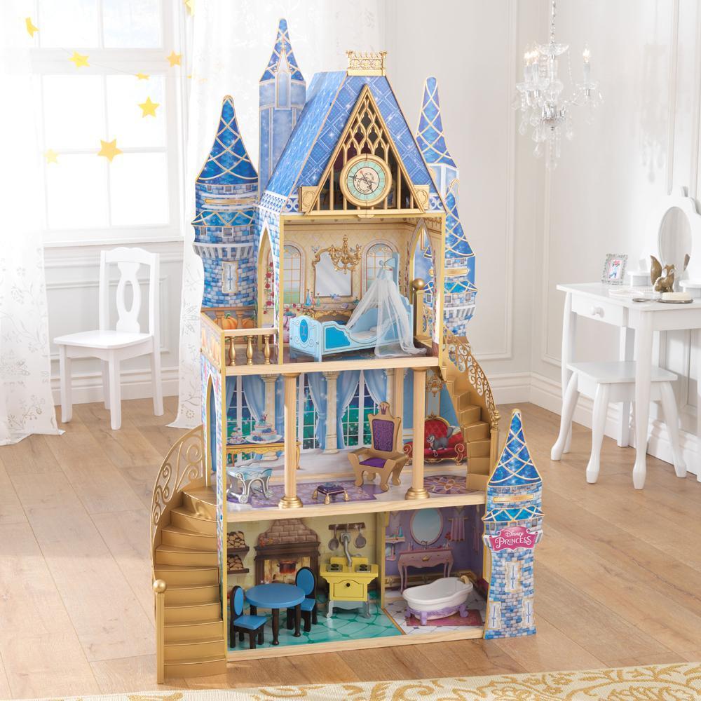Disney Princess Nukkekoti - Kidkraft Prinsessanukkekoti 65400