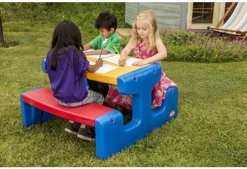 Little Tikes iso picnicpöytä - Lasten huonekaluja Lasten pöytä 4668