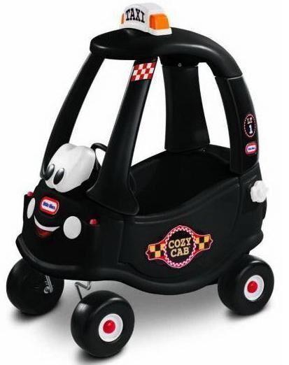 Little Tikes Musta Taksi Coupe kävelyauto - Little Tikes Potkuauto 172182