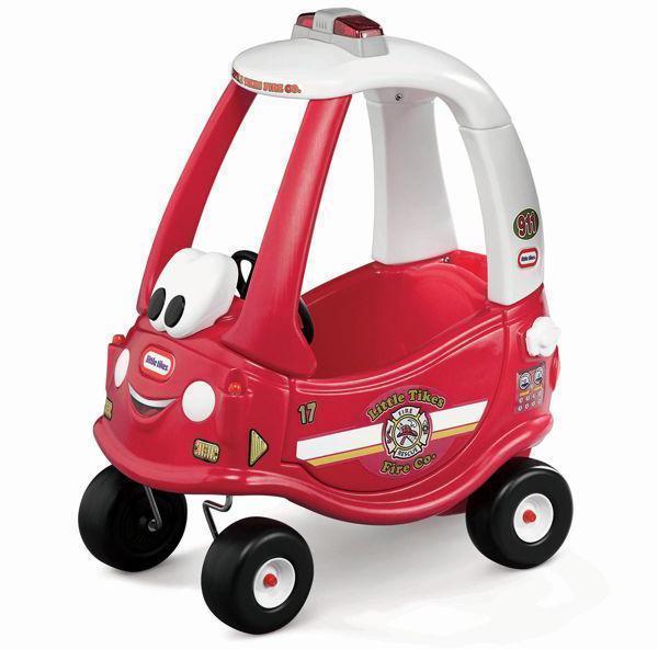 Little Tikes Punainen Coupe kävelyauto - Little Tikes Potkuauto 172502