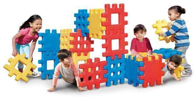 Little Tikes Big Waffel Blocks - Little Tikes rakentaminen 619137