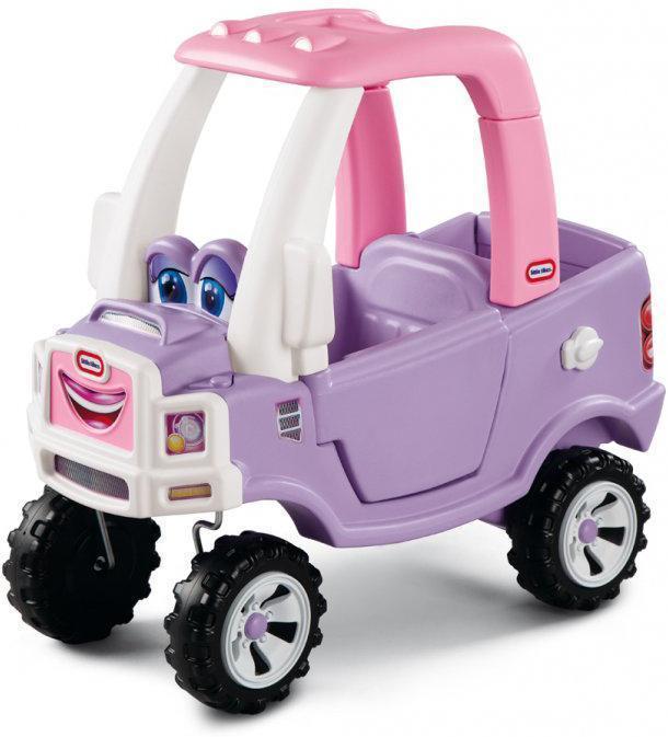 Little Tikes Vaaleanpunainen Coupe Truck kävelyauto - Little Tikes Potkuauto 627514