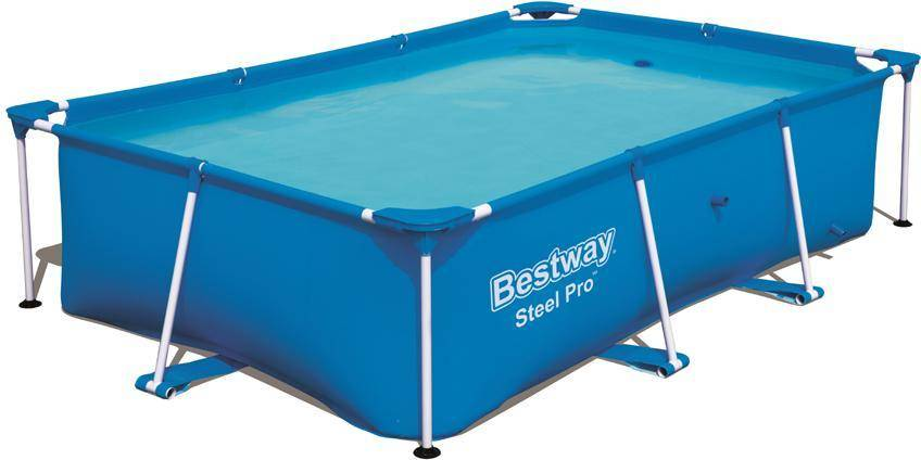 Bestway Steel Pro uima-allas 2.300L 259x170x61 cm - Bestway uima-allas 56403