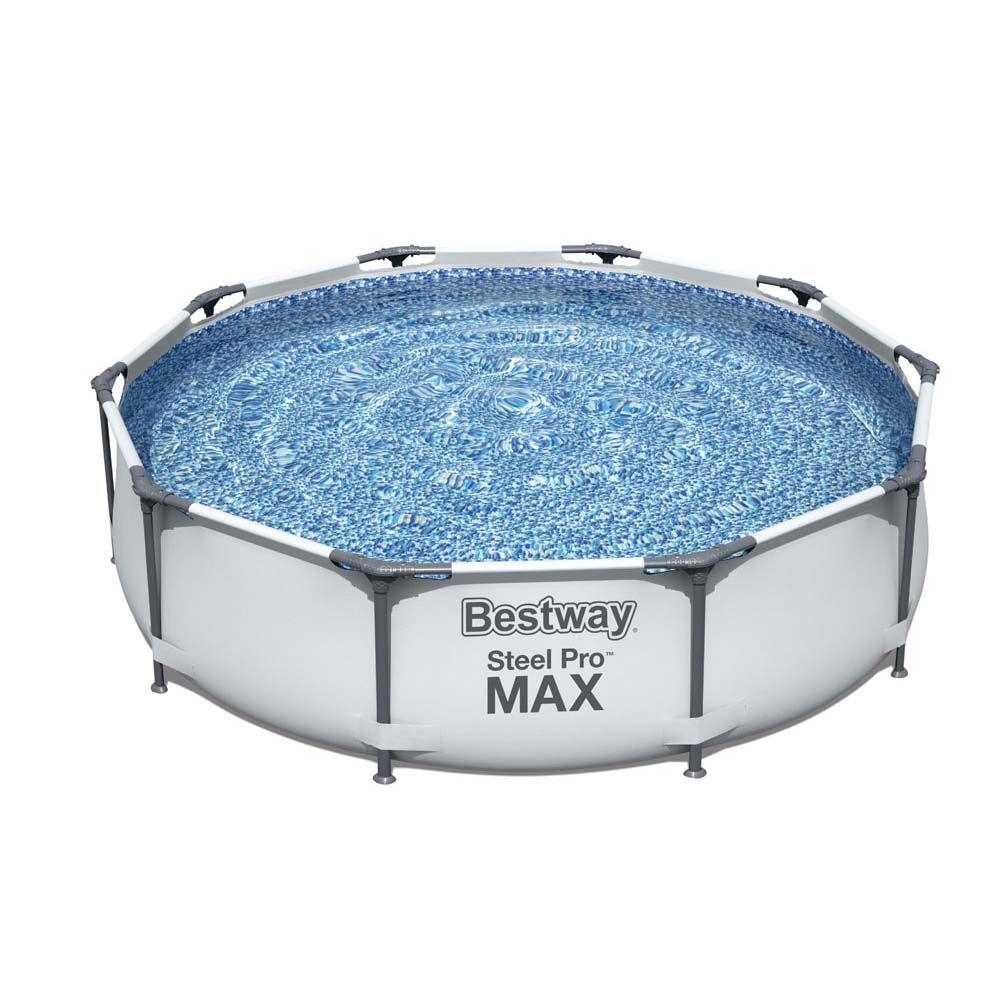 Bestway Steel Pro MAX uima-allas 4.678L 305x305x75 cm - Bestway uima-allas 56408