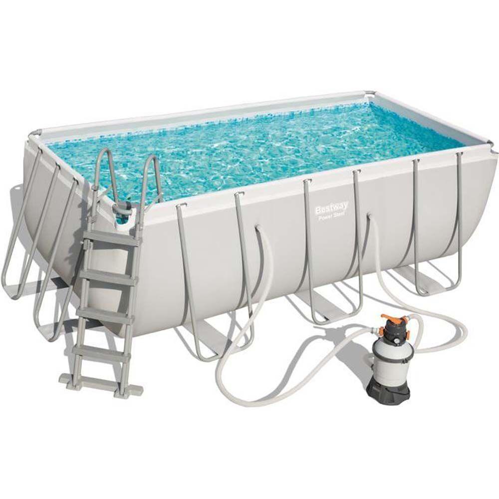 Bestway Power Steel Pool 8.124L 412x20 - Bestway Uima-allas 56457