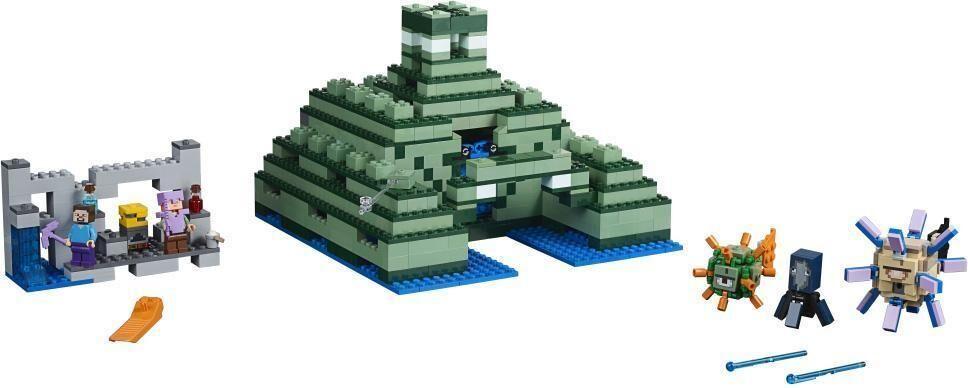 Lego Merimonumentti - LEGO 21136 Minecraft
