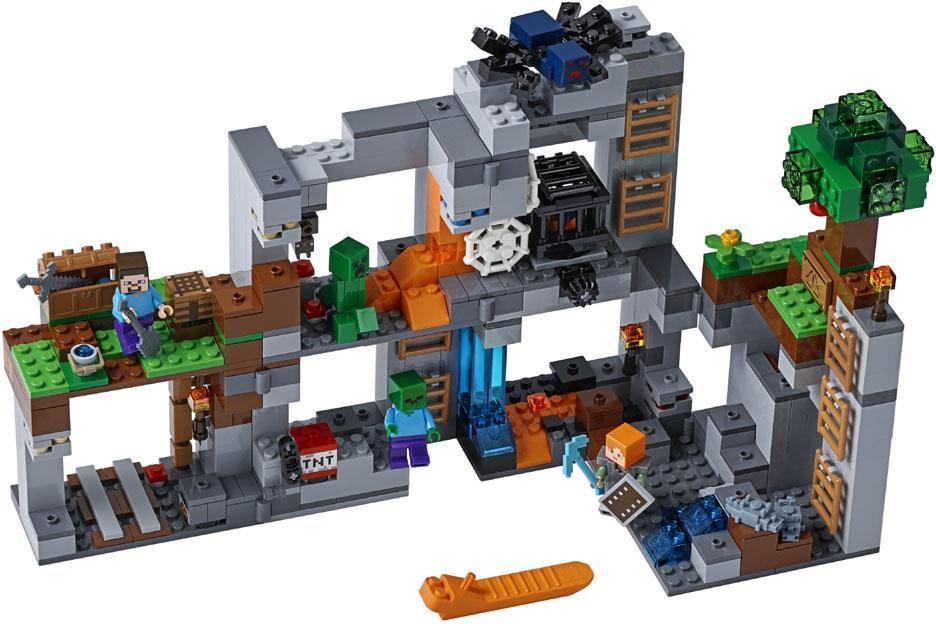 Lego Kallioseikkailut - Lego Minecraft 21147