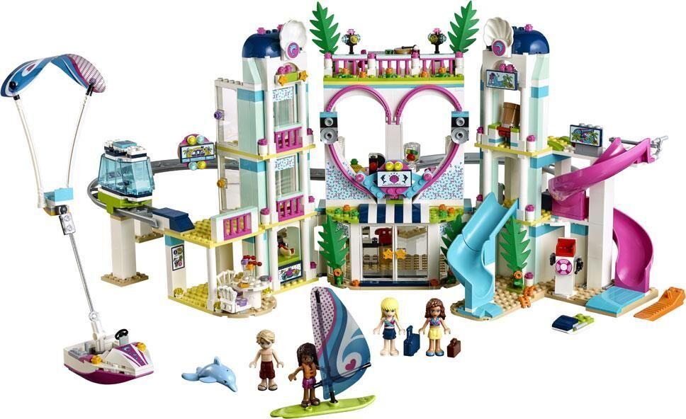 Lego Heartlake Cityn lomanviettopaikka - LEGO Friends 41347