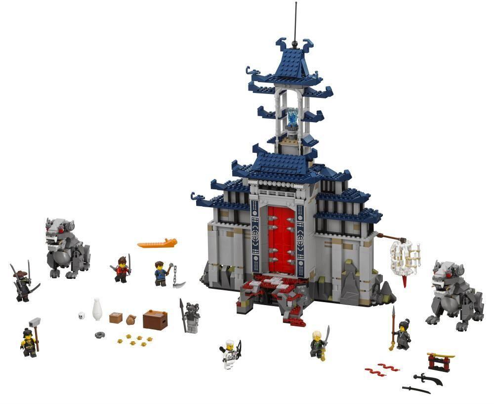 Lego Mahtavimmista mahtavimman aseen temppeli - LEGO 70617 Ninjago Movie