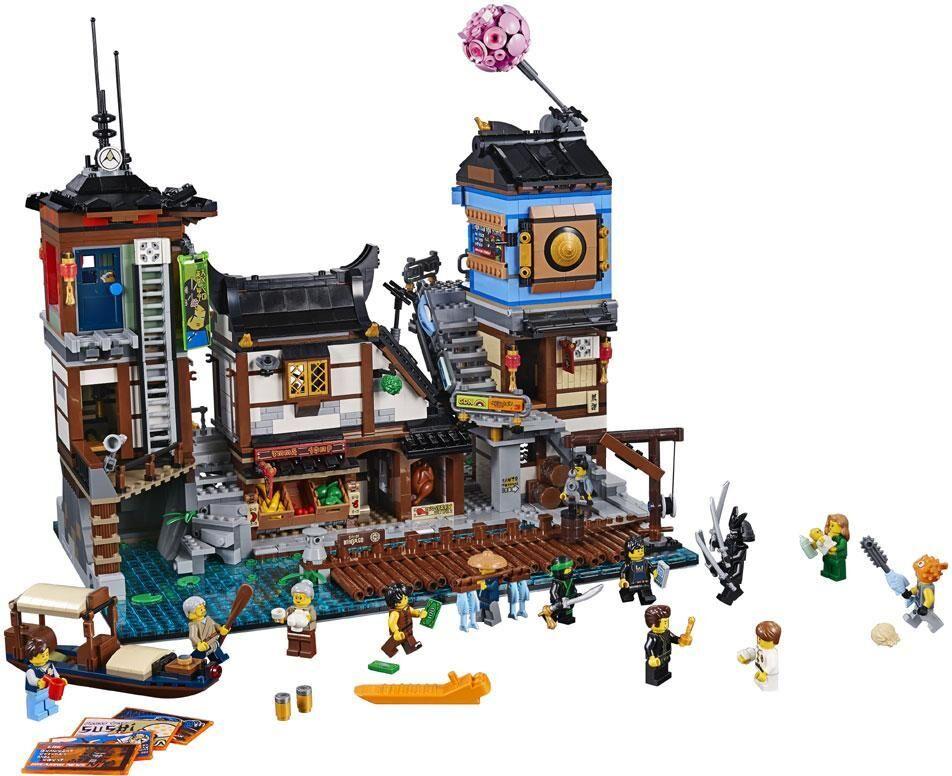 Lego Cityn satama - LEGO ninjago 70657