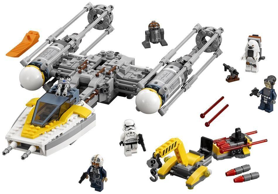 Lego Y-siipinen hävittäjä - LEGO 75172 Star Wars