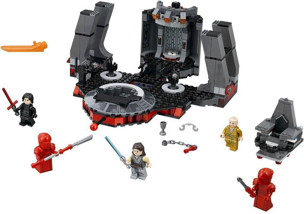 Lego Snoken valtaistuinsali - Lego Star Wars  75216