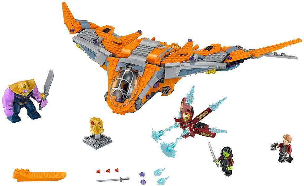 Lego Thanos: suuri taistelu - LEGO Super Heroes 76107