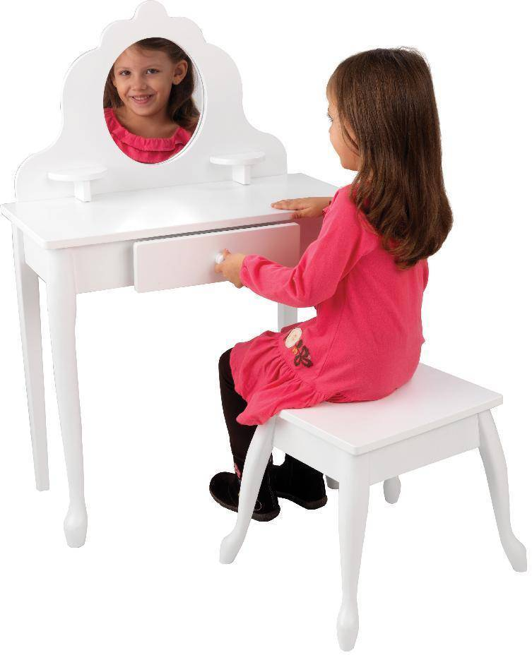 Kidkraft Meikkauspöytä ja jakkara - Kidkraft Lasten huonekalut 13009