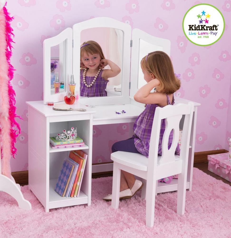 Kidkraft Meikkauspöytä ja tuoli Deluxe - Kidkraft Lasten huonekalut 13018