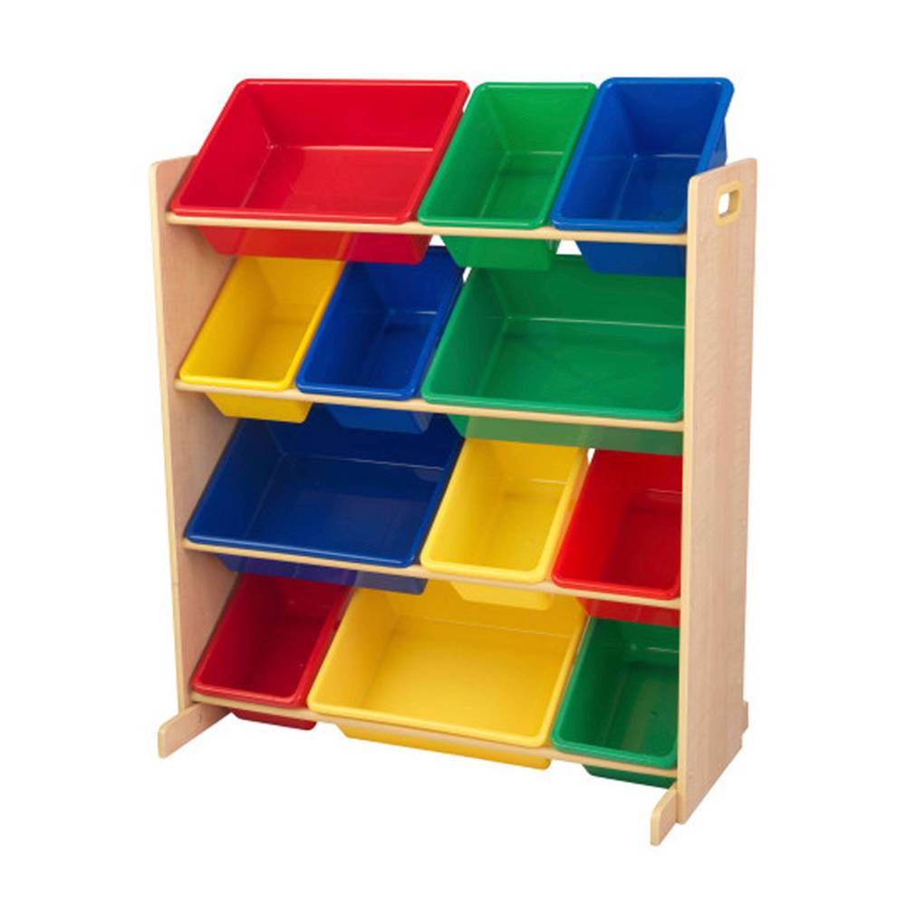 Kidkraft 12 laatikon säilytyshylly - Lasten huonekalut 16774