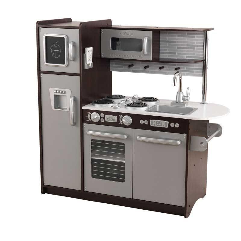 Kidkraft Leikkikeittiö Uptown Espresso Kitchen - Kidkraft Leikkikeittiö 53260