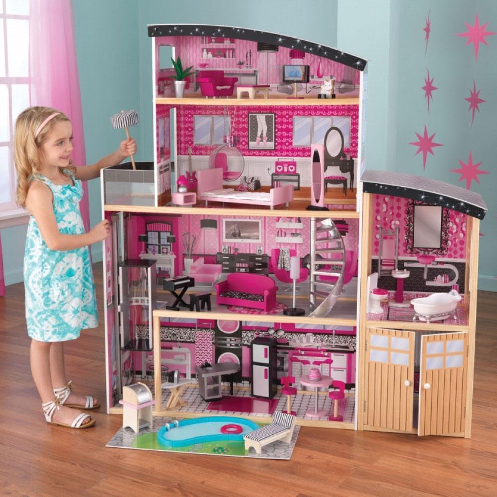 Kidkraft Sparkle nukkekoti - Sparkle Doll House 65826