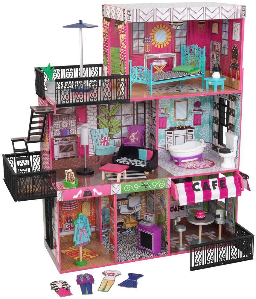 Kidkraft Dollhouse Brooklyns-parvi - Kidkraft Dollhouse 65922
