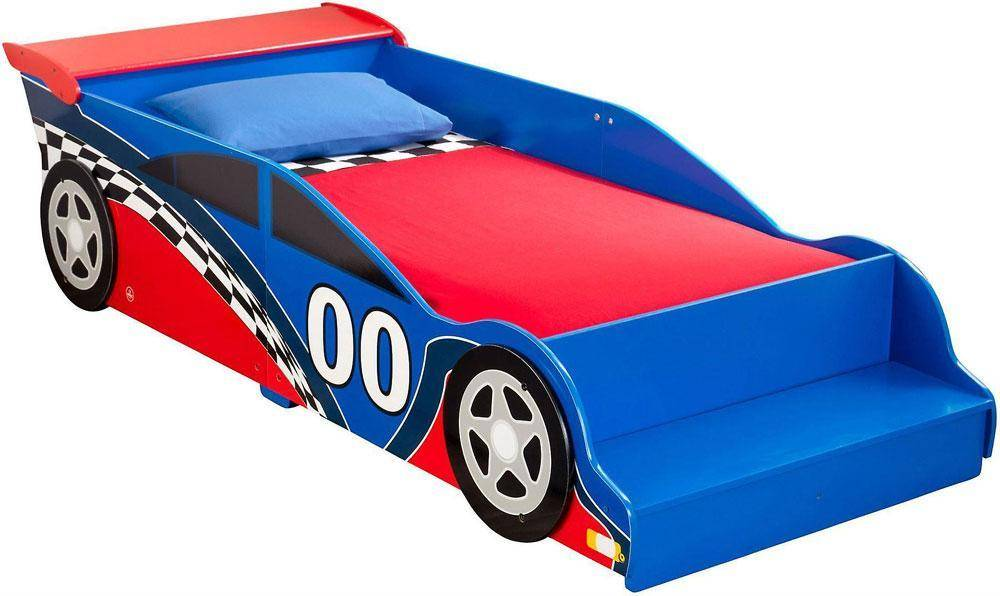 Kidkraft Racecar Junior Bed - Kidkraft lasten sänky 76038