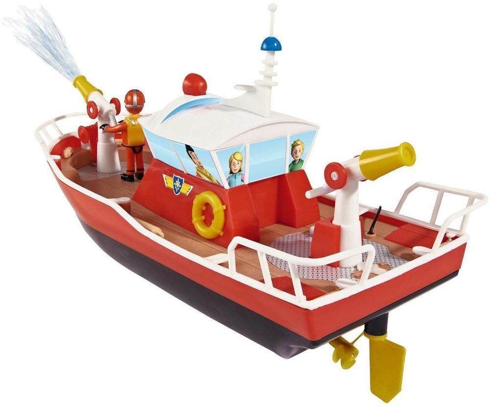 Palomies Sami Radio-ohjattava Titan-vene ja hahmot - Palomies Sami kauko-ohjattava laiva 037894