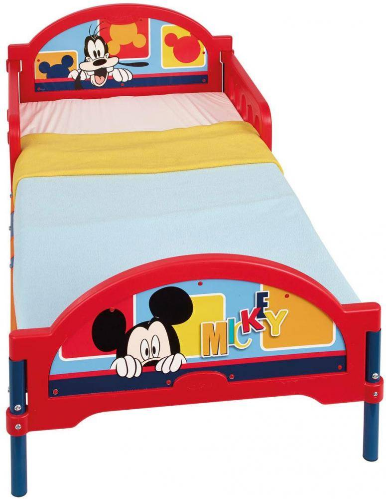 Worlds Apart Mickey Mouse juniorisänky ilman patjaa - Disney Mickey Mouse lastensänky 646373