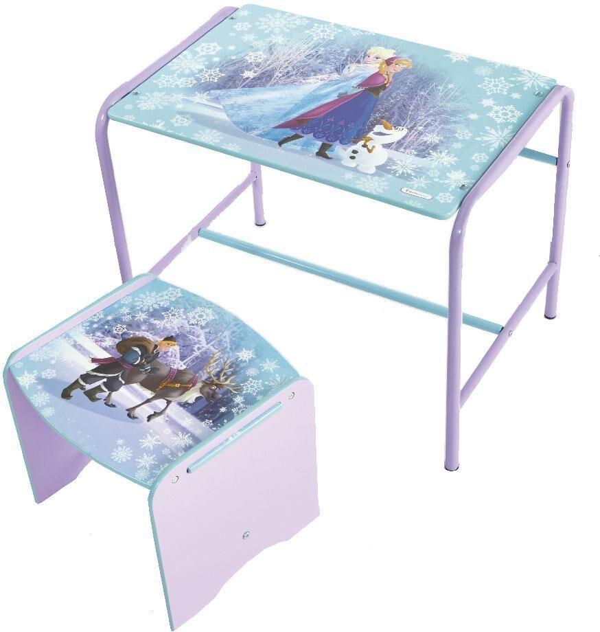 Worlds Apart Huurteinen seikkailu pöytä ja jakkara - Disney Frozen bord og stol 653883