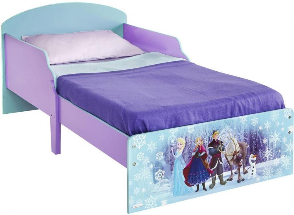 Worlds Apart Huurteinen seikkailu juniorisänky ilman patjaa / HelloHome Frozen CosyTime Toddl - Disney Frozen lastensänky 654286