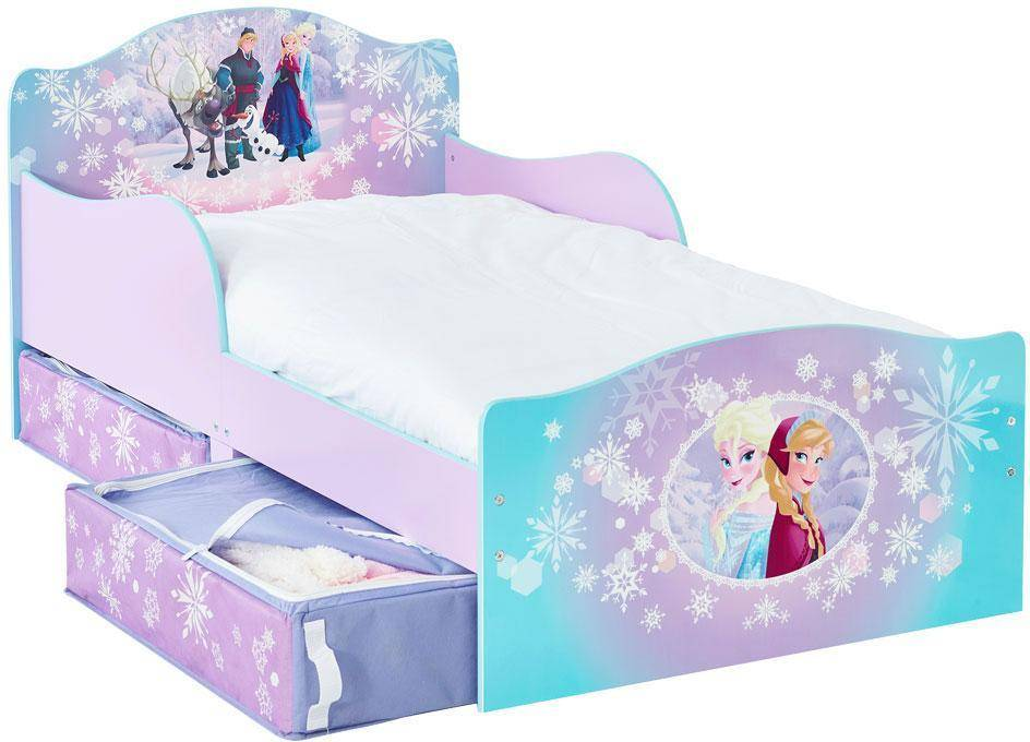 Worlds Apart Frozen lastensänky ja patja - Disney Frozen lastensänky 656815