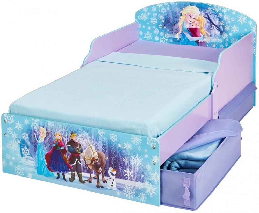 Worlds Apart Frozen Juniorisänky ja patja - Disney Frozen lastensänky 658840