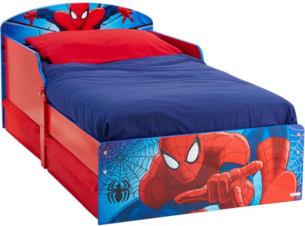Worlds Apart Spider-Man juniorsänky patjalla - Spiderman huonekalut 658864