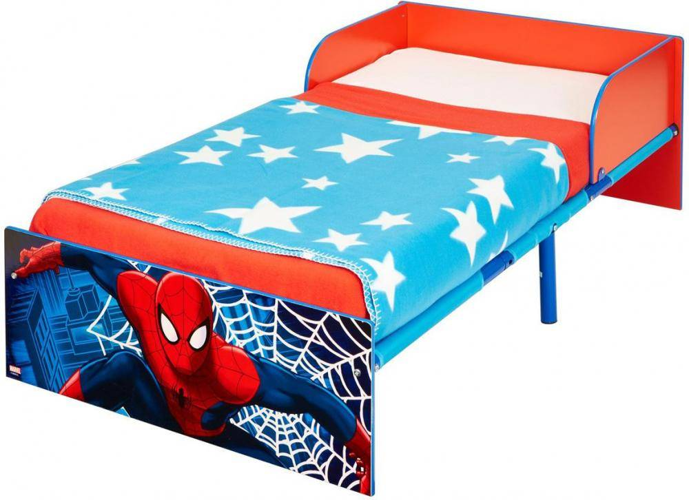 Worlds Apart Spider-Man juniorsänky patjalla - Spiderman huonekalut 660409