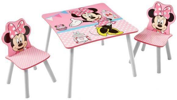 Worlds Apart Minni Hiiri pöytä ja tuolit - Minni Hiiri sisustus 661642