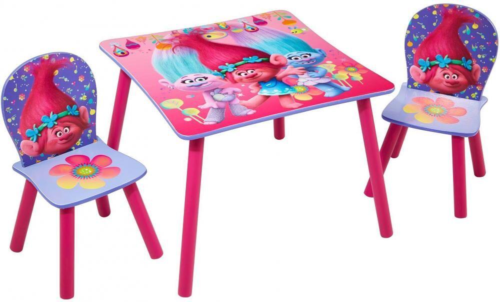 Worlds Apart Peikot pöytä ja tuolit - Trolls huonekalut 662755