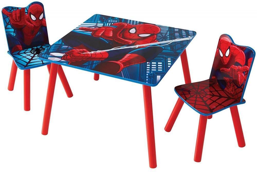 Worlds Apart Spiderman pöytä ja tuolit - Spiderman huonekalut 663509